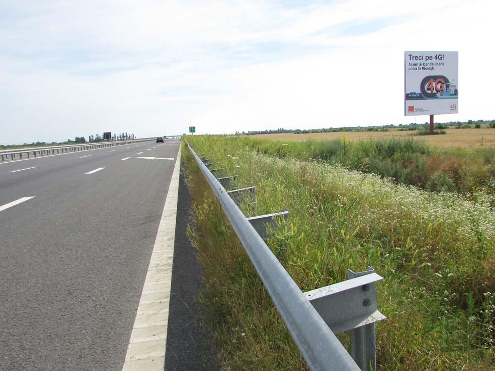 panouri publicitare Autostrada A3 Bucuresti Ploiesti
