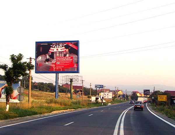 Spectacular advertising locations 15x10m backlit