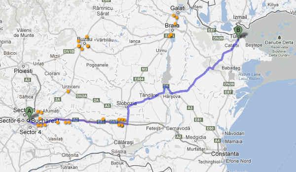 Harta Harta Iesire Bucuresti Autostrada Soarelui