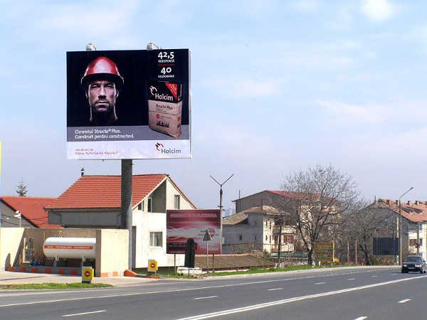 Campanie outdoor Holcim. Unipol 8x7m