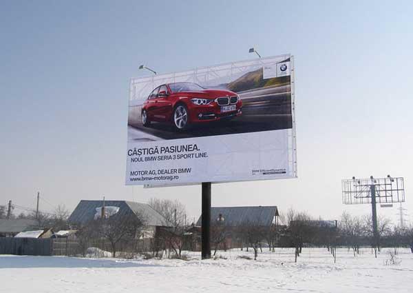 Unipoluri 14x9 pe Autostrada A1 - Campanie BMW